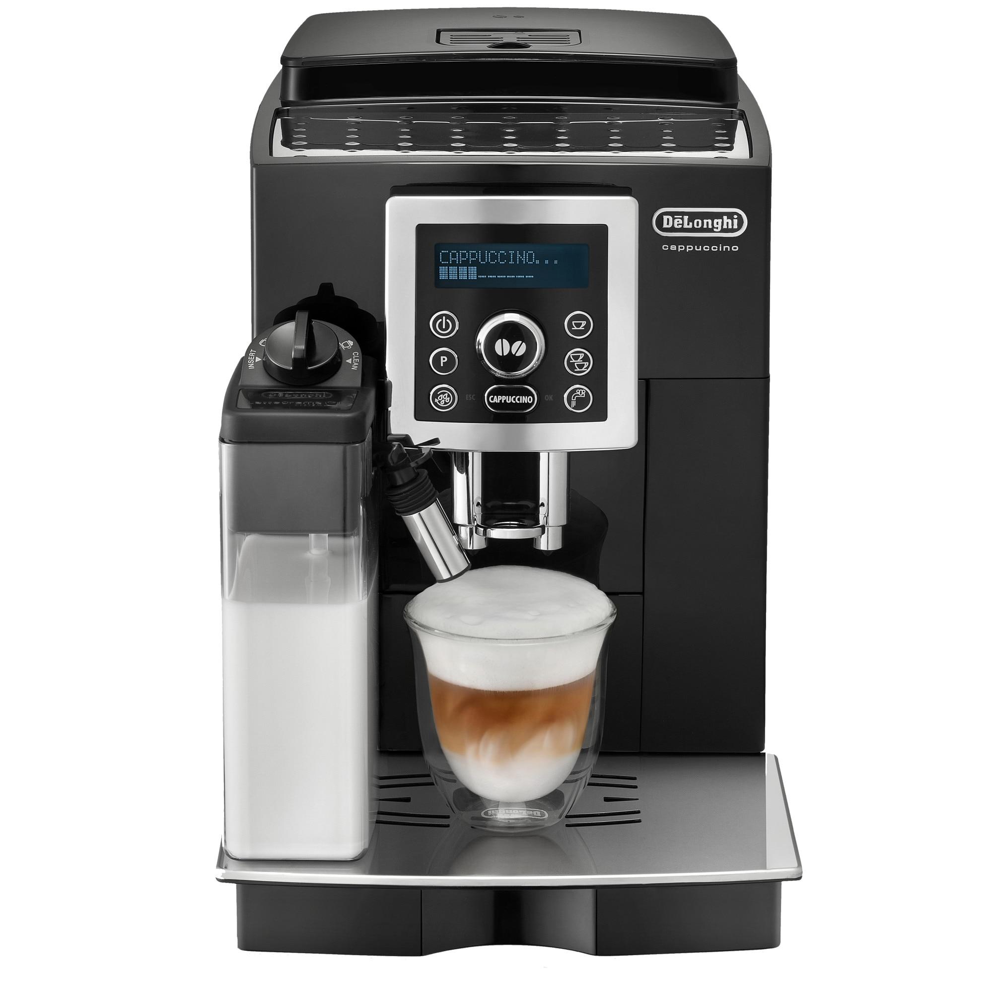 Fotografie Espressor automat De'Longhi ECAM 23.460 B, 1450 W, 15 bar, LatteCrema system, 1.8 l, Negru