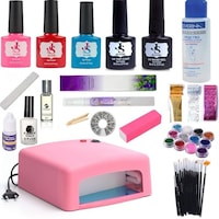Комплект Jessie 2019390 цветен uv гел и гел лак - 3 цвята по ваш избор