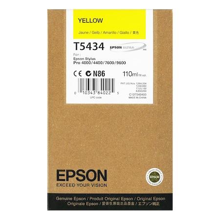 Мастило Epson C13T543400 Жълто