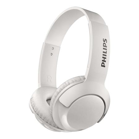 Casti Audio On-Ear Philips, SHB3075WT/00, Bluetooth, Autonomie 12h, Alb