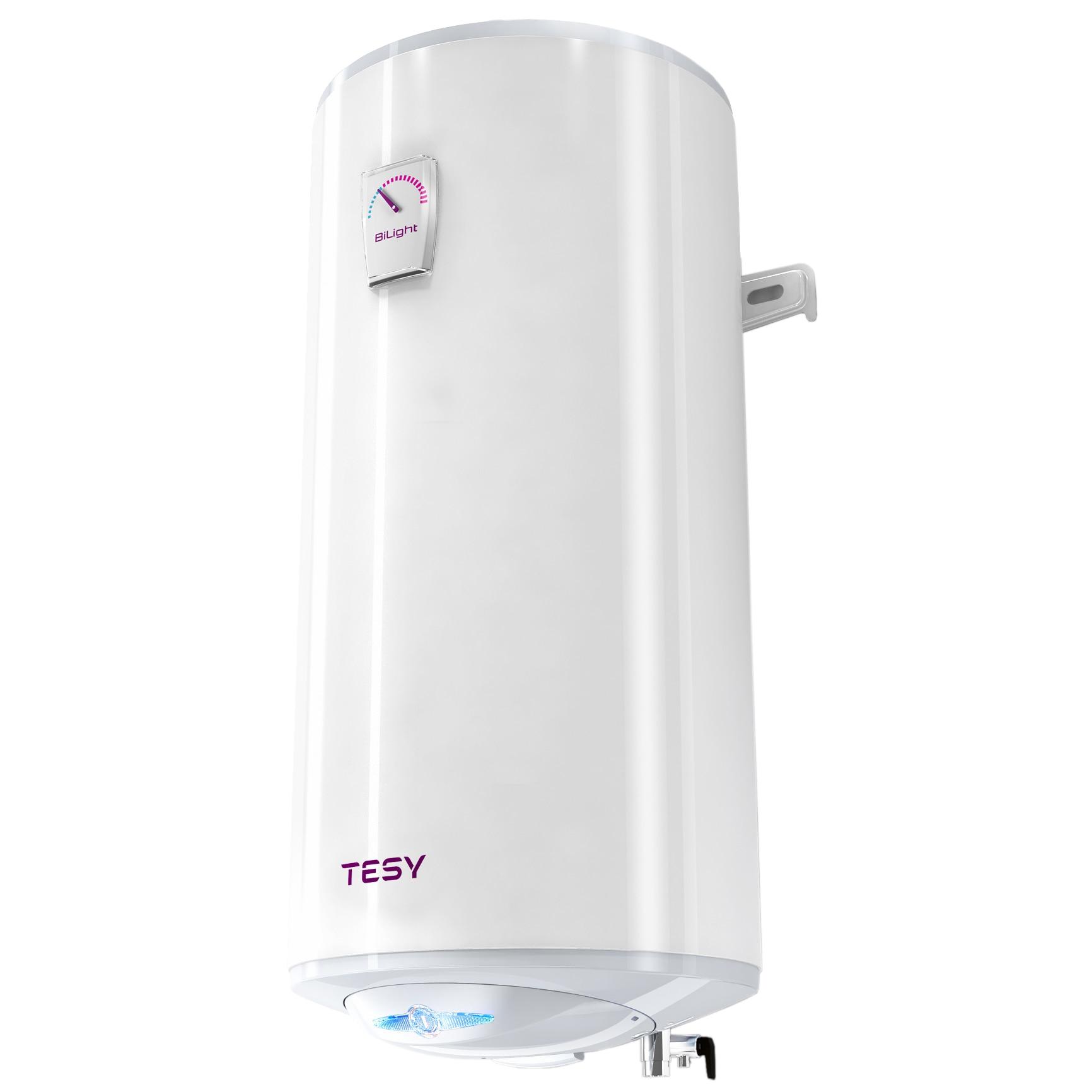 Fotografie Boiler electric Tesy BiLight SLIM GCV503820B11TSR, 2000 W, 50 L, 0.8 Mpa, 34 mm, Protectie anti-inghet