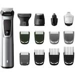 Philips Multigroom series 7000 MG7720/15, 14 az 1-ben prémium vágókészülék, 14 eszköz, DualCut technológia, vízálló, ezüst/fekete