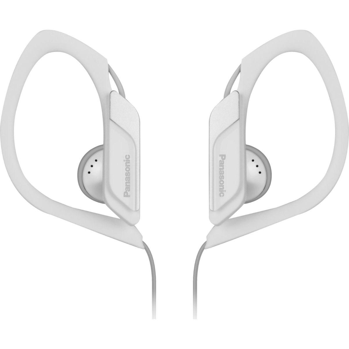 Fotografie Casti audio in-ear Panasonic RP-HS34E-W, Sport, Alb