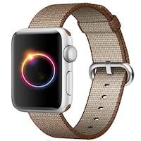 Каишка iUni за Apple Watch 38 мм, Woven Strap, Nylon, Brown