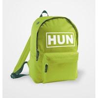 HUN feliratos, zöld szurkolói hátizsák