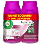 Резерва за ароматизатор за стая Air Wick Freshmatic Smooth Satin & Moon Lily Duo Pack
