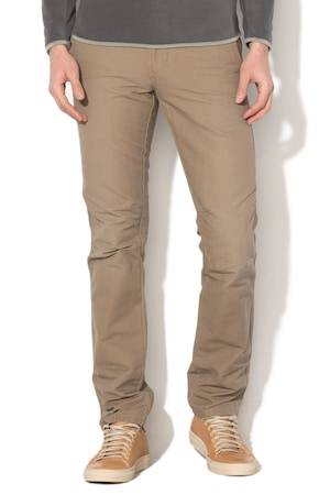 Napapijri, Панталон с лого, Камел, 40