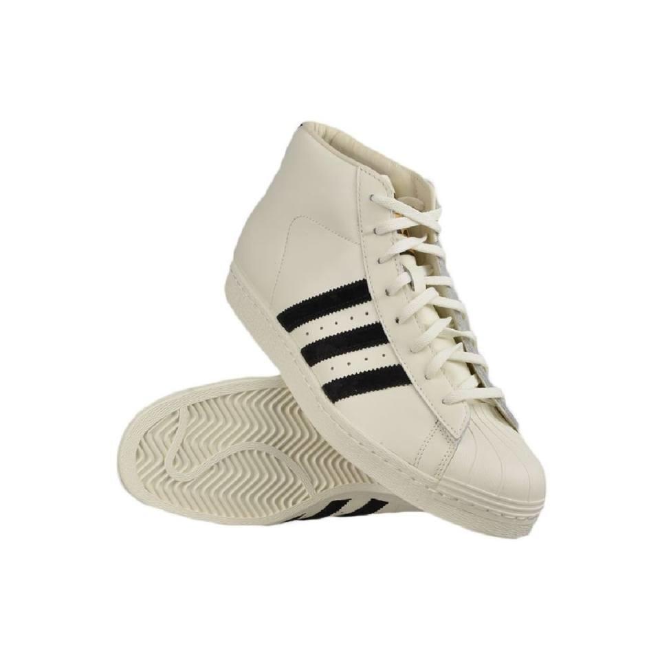 ADIDAS ORIGINALS férfi utcai cipö, fehér pro model vintage dlx, B35246