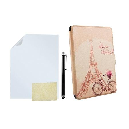 Комплект калъф Slim за Kindle Paperwhite, Протектор, Писалка, Excellent Paris