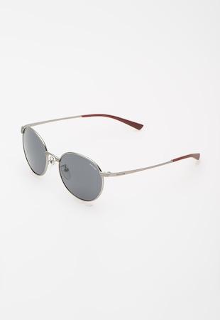 Police, Олекотени слънчеви очила Rival с гъвкави рамене, Сребрист / Бордо