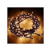 105 LED-es karácsonyfa izzósor, melegfehér