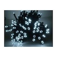 105 LED-es karácsonyfa izzósor, hidegfehér