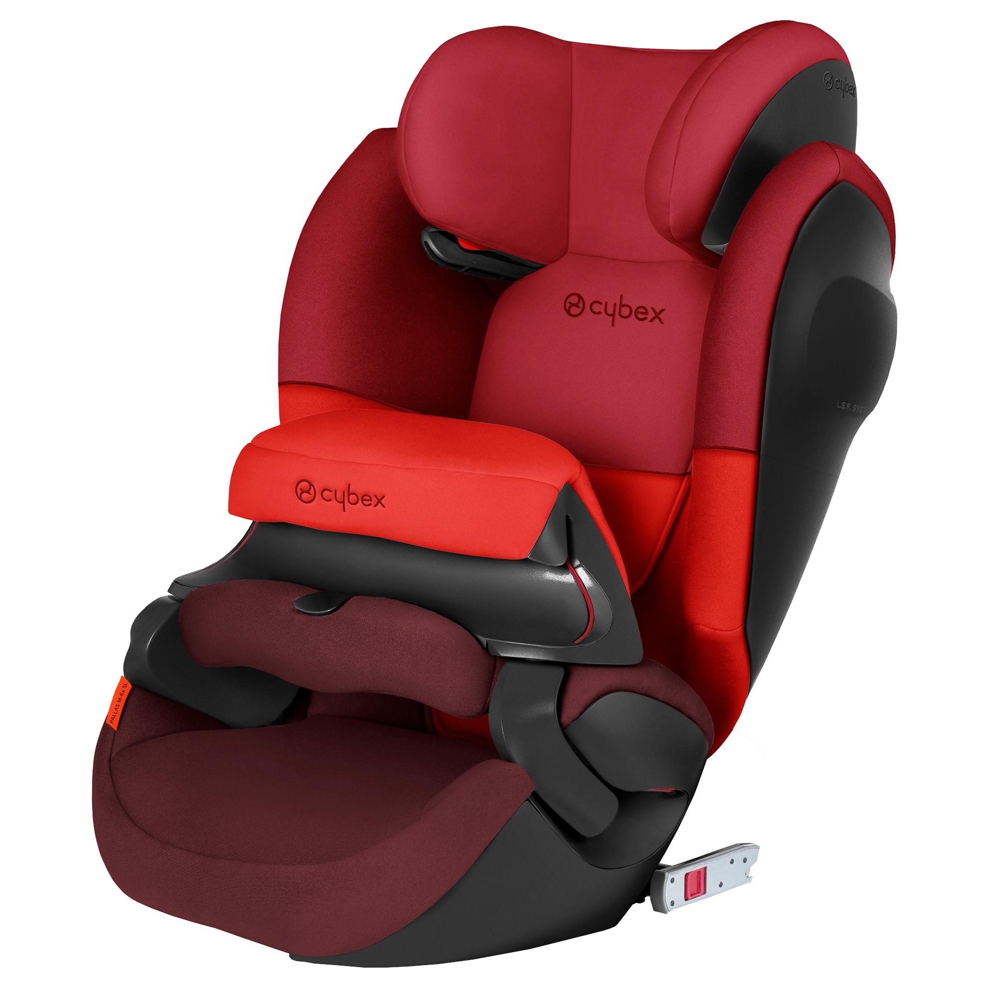 Fotografie Scaun auto ISOFIX Cybex Pallas M-Fix SL, Rumba Red, 9-36 kg, Rosu