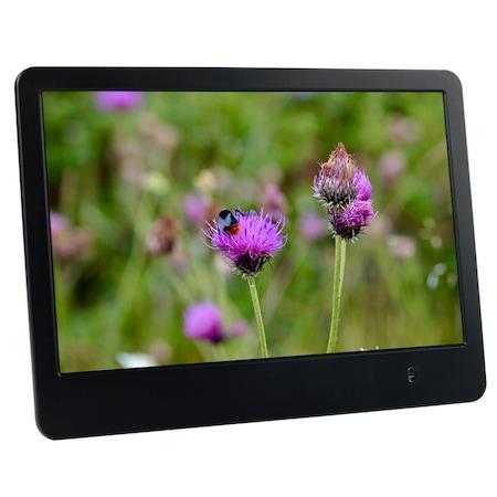 """Дигитална фото рамка Diva DF8017M, 8"""", LCD, HD дисплей, дистанционно"""