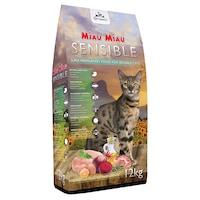 Суха храна за котки, Miau Miau, Sensible, 12 кг