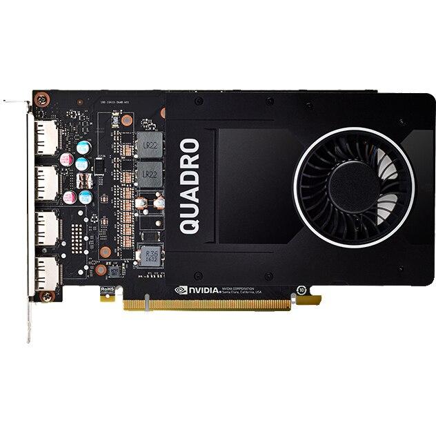 Fotografie Placa video PNY nVIDIA Quadro P2000, 5GB GDDR5, 160 bit