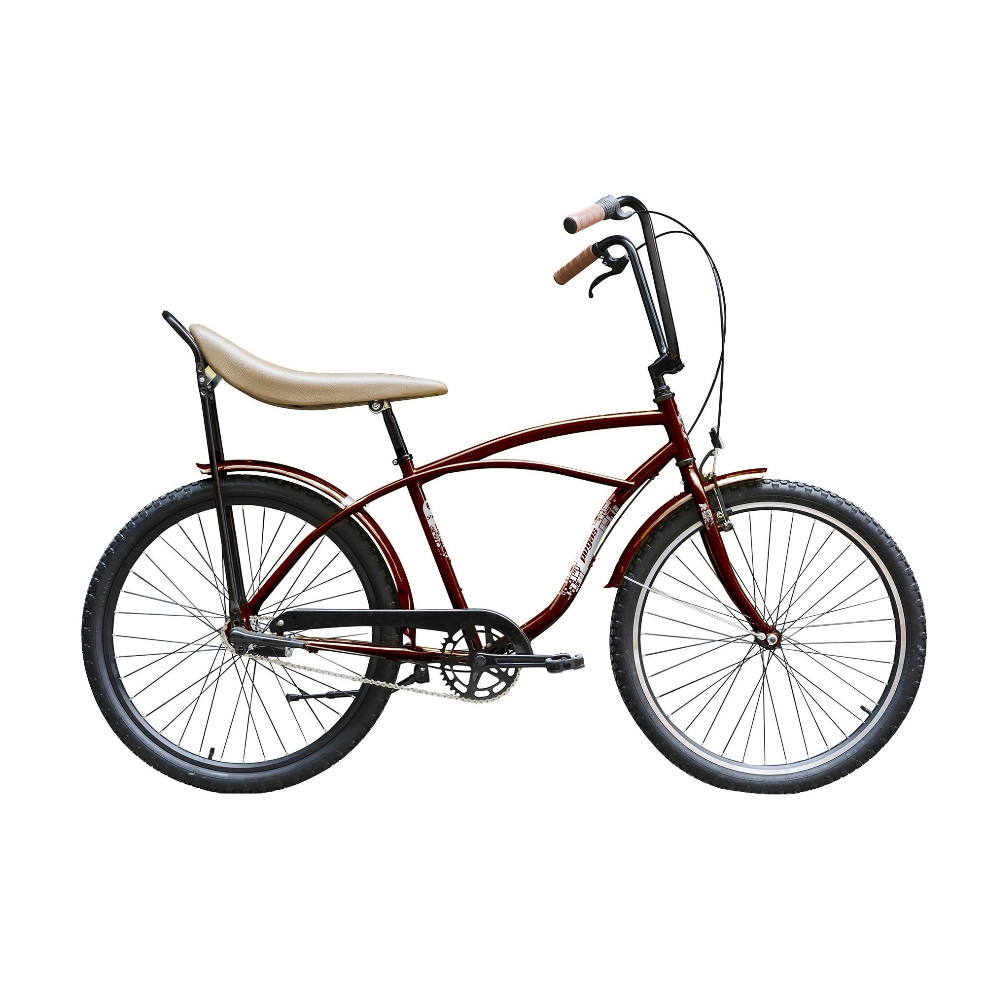 Fotografie Bicicleta Pegas Strada 1 Alu 3s, Visiniu Cochet