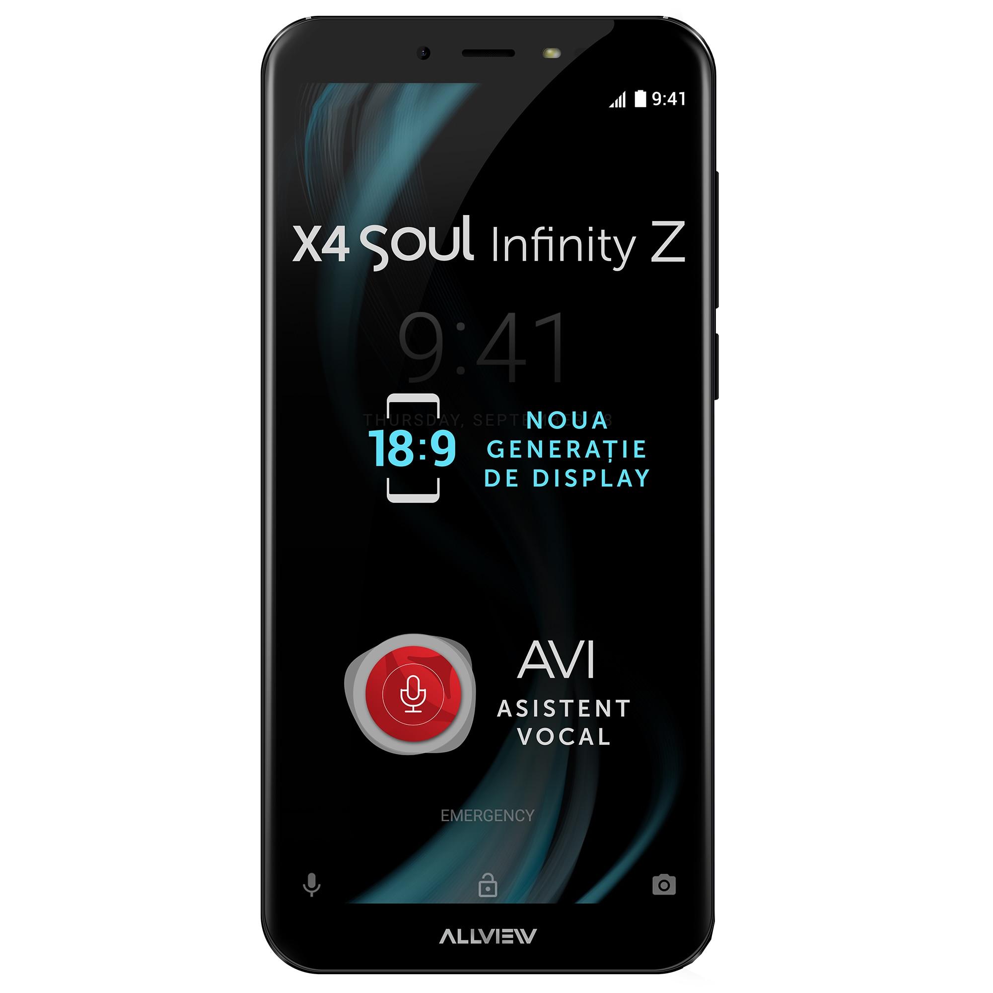 Fotografie Telefon mobil Allview X4 Soul Infinity Z, Dual SIM, 32GB, 4G, Night Sky