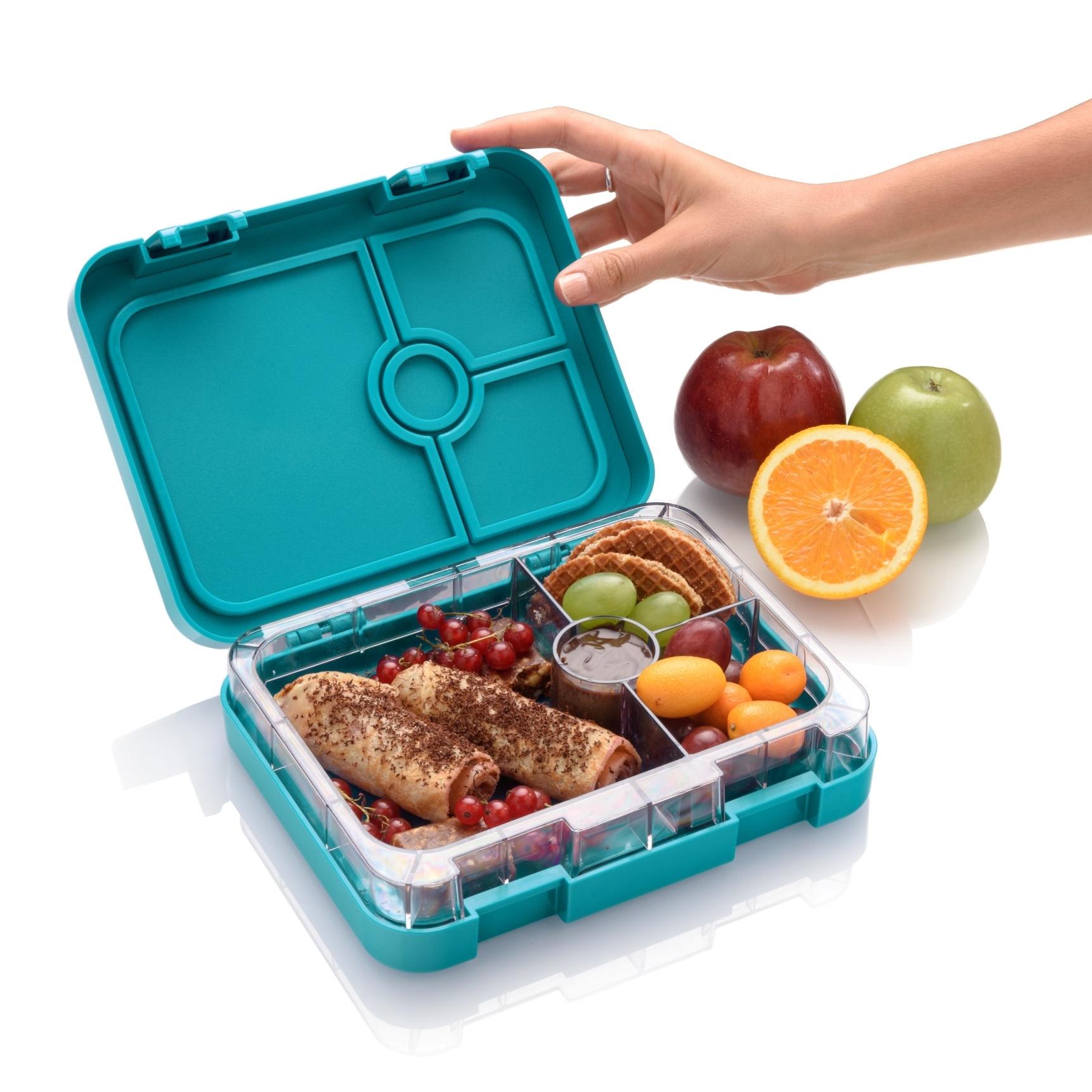 Prânz sănătos Bento într-o cutie cu mâncare japoneză; Insula naturală