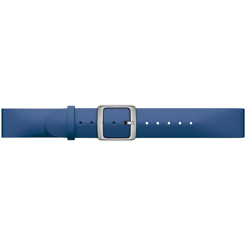 Fotografie Curea ceas smartwatch compatibila cu Withings Steel HR 40mm, Silicon, 20mm, Deep Blue
