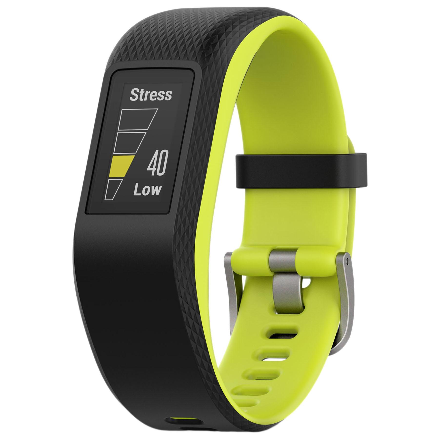 Fotografie Bratara fitness Garmin Vivosport, GPS, Large, Limelight
