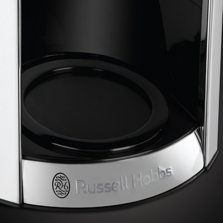 Russell Hobbs 23241 56 Luna kávéfőző, 1.8L, melegentartó funkció, kék LCD kijelző, Szürke eMAG.hu