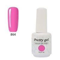 Гел лак Pretty 864 10 мл Лятно розово