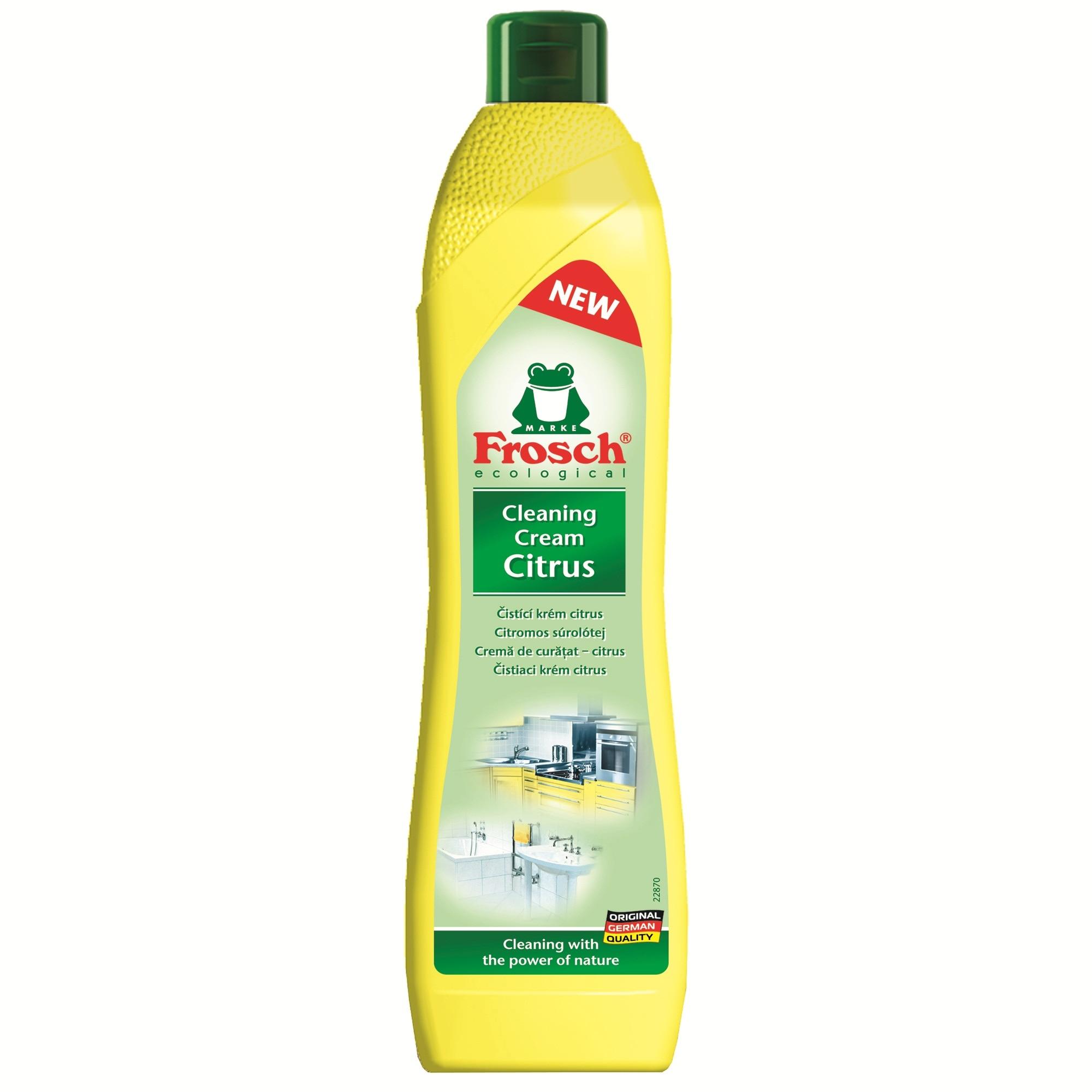 crema de curatat ecologica frosch lamaie 500ml  emagro