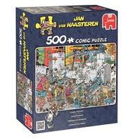 Édesség gyár, 500 darabos puzzle