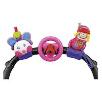 Boldog trió bébijáték, rózsaszín - Ks Kids