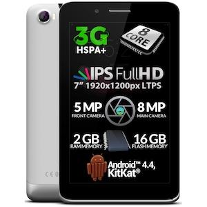 "Tableta Allview Viva H7 Xtreme cu procesor Octa-Core 1.70GHz, 7"", IPS, 2GB RAM, 16GB, Wi-Fi, 3G, GPS, Bluetooth, Android 4.4, Black"
