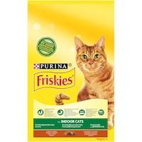 Храна за котки в зряла възраст PURINA®FRISKIES® INDOOR, живеещи на закрито, Пиле и Зеленчуци, Суха храна,Плик,10kg