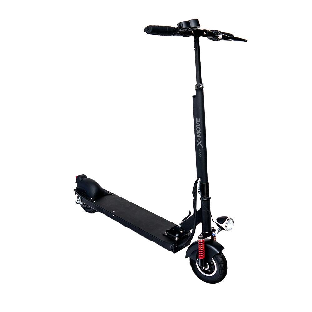 """Fotografie Trotineta Electrica X-Move, pliabila, puter 350W, roti 8 """", viteză maximă de 25km/h, autonomie de până la 15km, negru"""