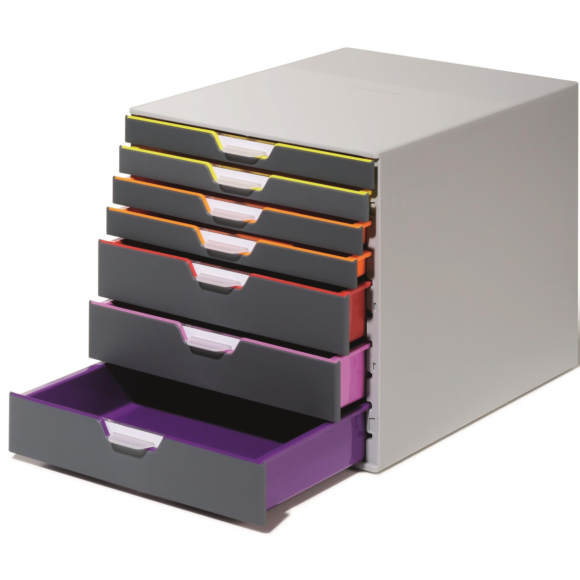 Fotografie Cutie organizare/arhivare cu 7 sertare, Varicolor