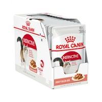 Мокра храна за котки Royal Canin, Instinctive, В сос, 12 броя x 85 гр