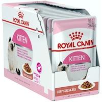 Мокра храна за котки Royal Canin, Kitten Instinctive, В сос, 12 бр x 85 гр