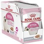 Мокра храна за котки Royal Canin, Kitten Instinctive, Pate, 12 бр x 85 гр