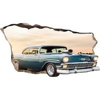 Startonight 3D Fotótapéta Amerikai autó, világít a sötétben, 220 x 120 cm