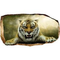 Startonight 3D Fotótapéta Tigris, világít a sötétben, 220 x 120 cm