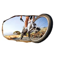 Startonight 3D Fotótapéta Biciklikerék, világít a sötétben, 220 x 120 cm