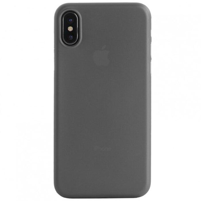Fotografie Husa de protectie Tucano Nuvola pentru Apple iPhone X, Transparent