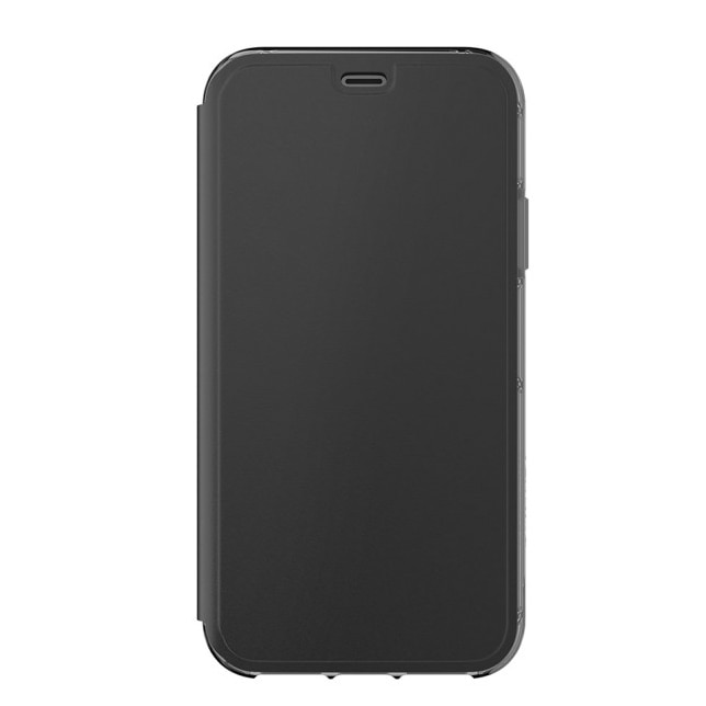 Fotografie Husa de protectie Griffin Survivor Clear Wallet pentru iPhone X, Black Clear