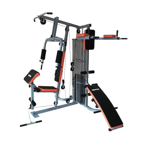 Aparat multifunctional Sporter 7005A, rosu/negru, 140x102x200 cm
