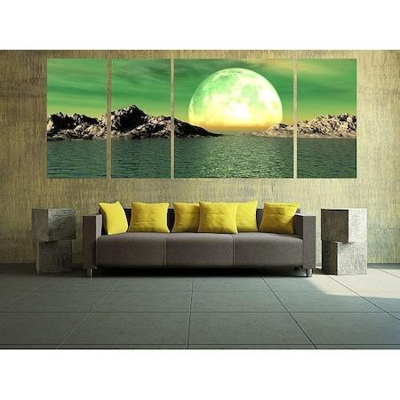 Startonight DualView Több Részes Hold, 3 darab, világít a sötétben, 60 x 150 cm