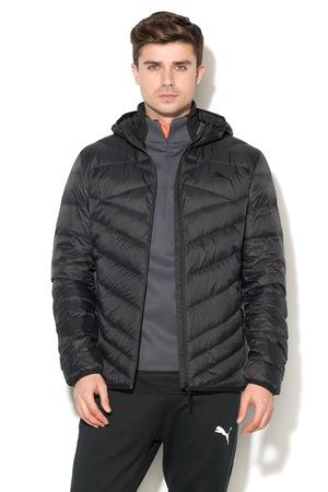 Puma, Подплатено пухено яке с качулка, Черен