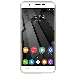 Oukitel U7 Plus Mobiltelefon, Kártyafüggetlen, Dual SIM, 16GB, LTE, Arany
