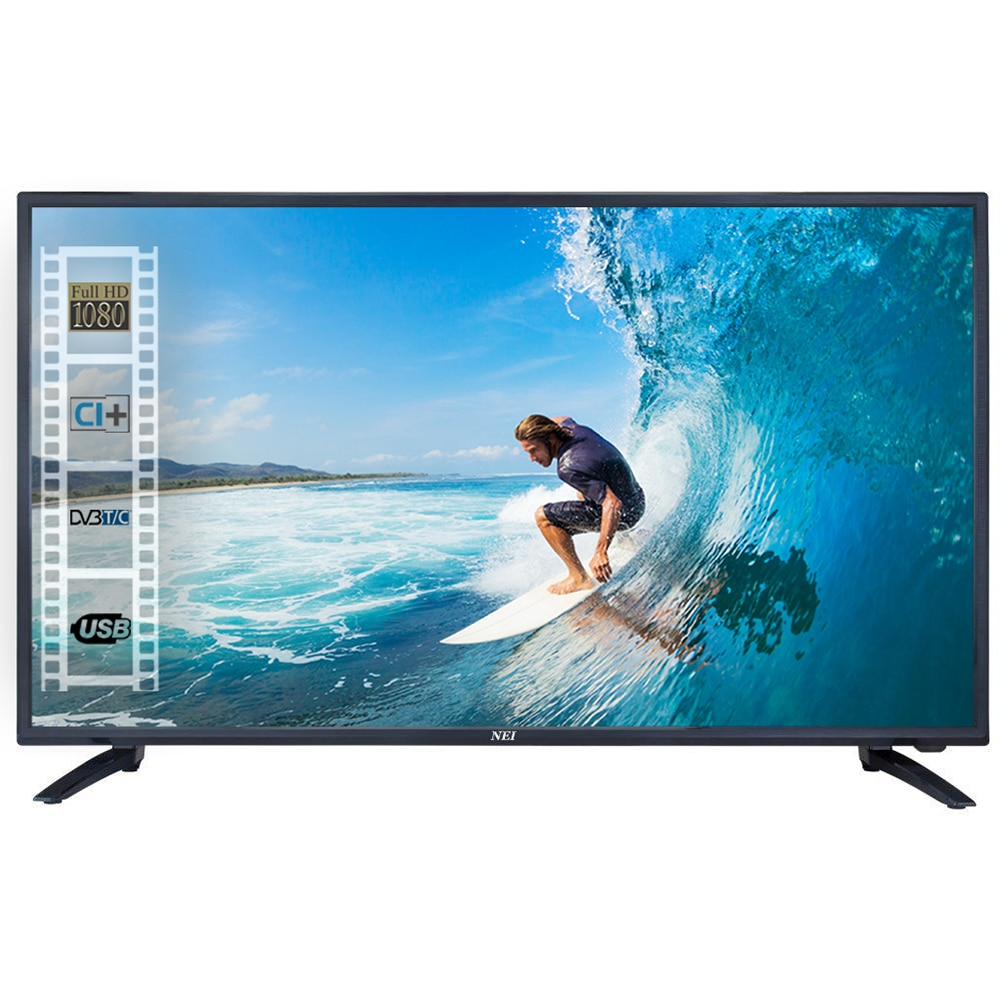 Fotografie Televizor LED NEI, 100 cm, 40NE5000, Full HD, Clasa A+