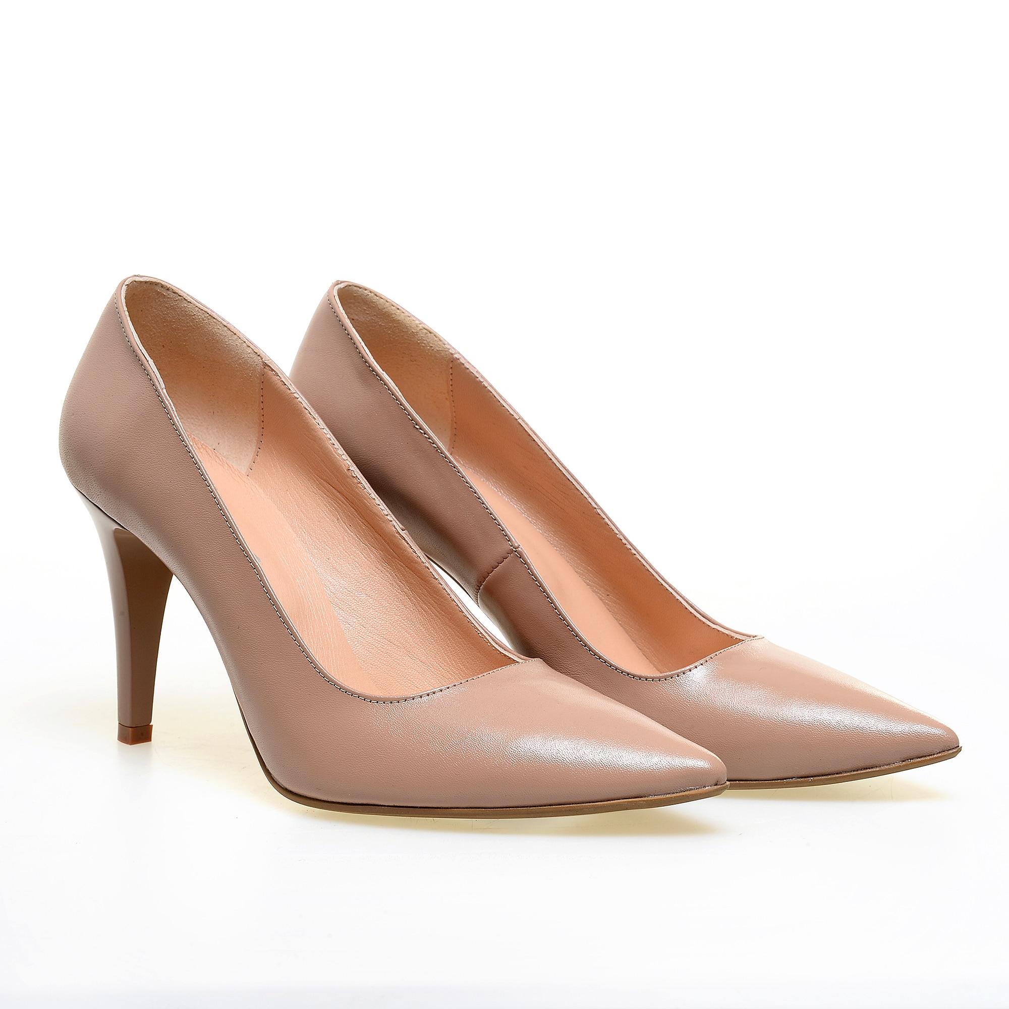 selecție premium cel mai bun furnizor priza de fabrica Pantofi cu toc nude de dama RELEASE, 9.5 cm 38 - eMAG.ro