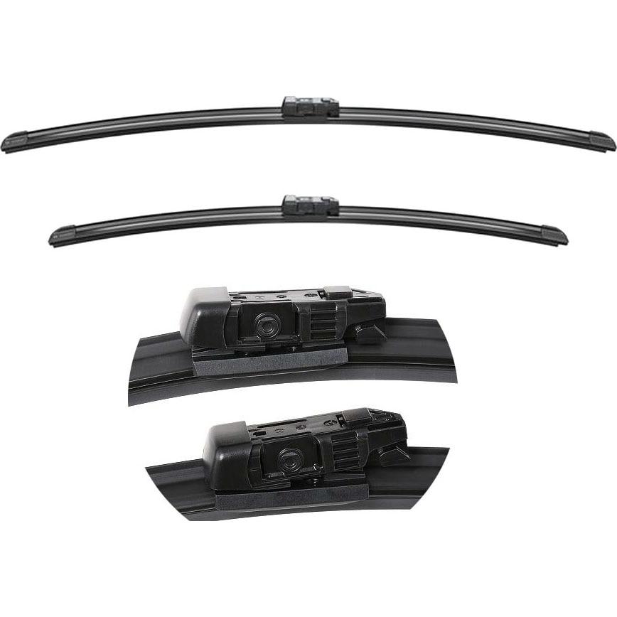 Fotografie Set stergatoare Bosch Aerotwin, 65/47.5 cm pentru Ford Mondeo IV, BMW Seria 2, Volvo V40, Fiat Talento, Opel Vivaro, Renault Trafic III