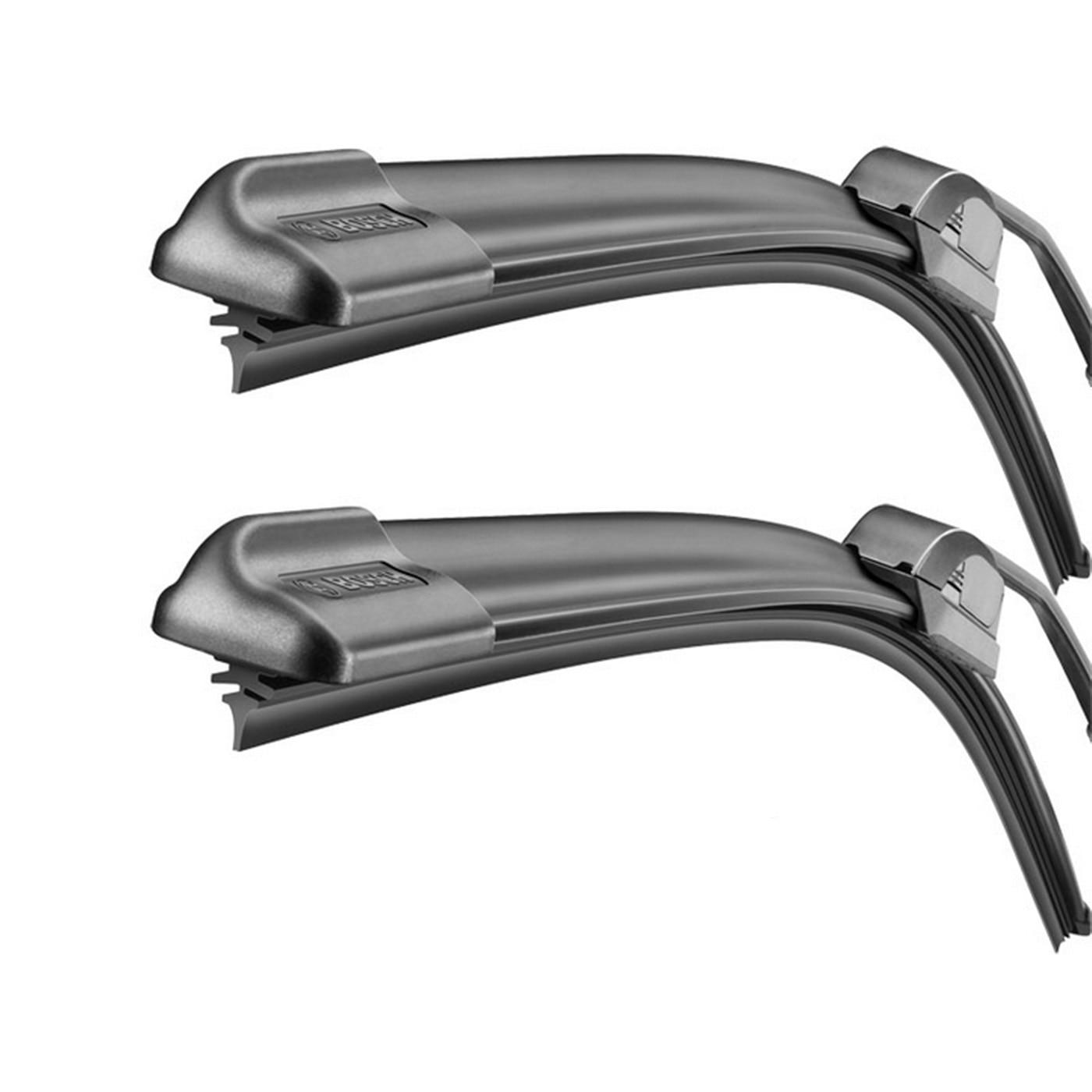 Fotografie Set stergatoare Bosch AeroTwin Retrofit, pentru parbriz 60 cm si 47.5 cm, pentru prindere clasica (carlig)
